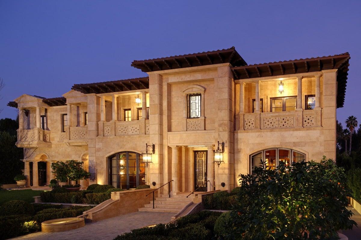 Italian villa by landry design group inc for Italian villa architecture