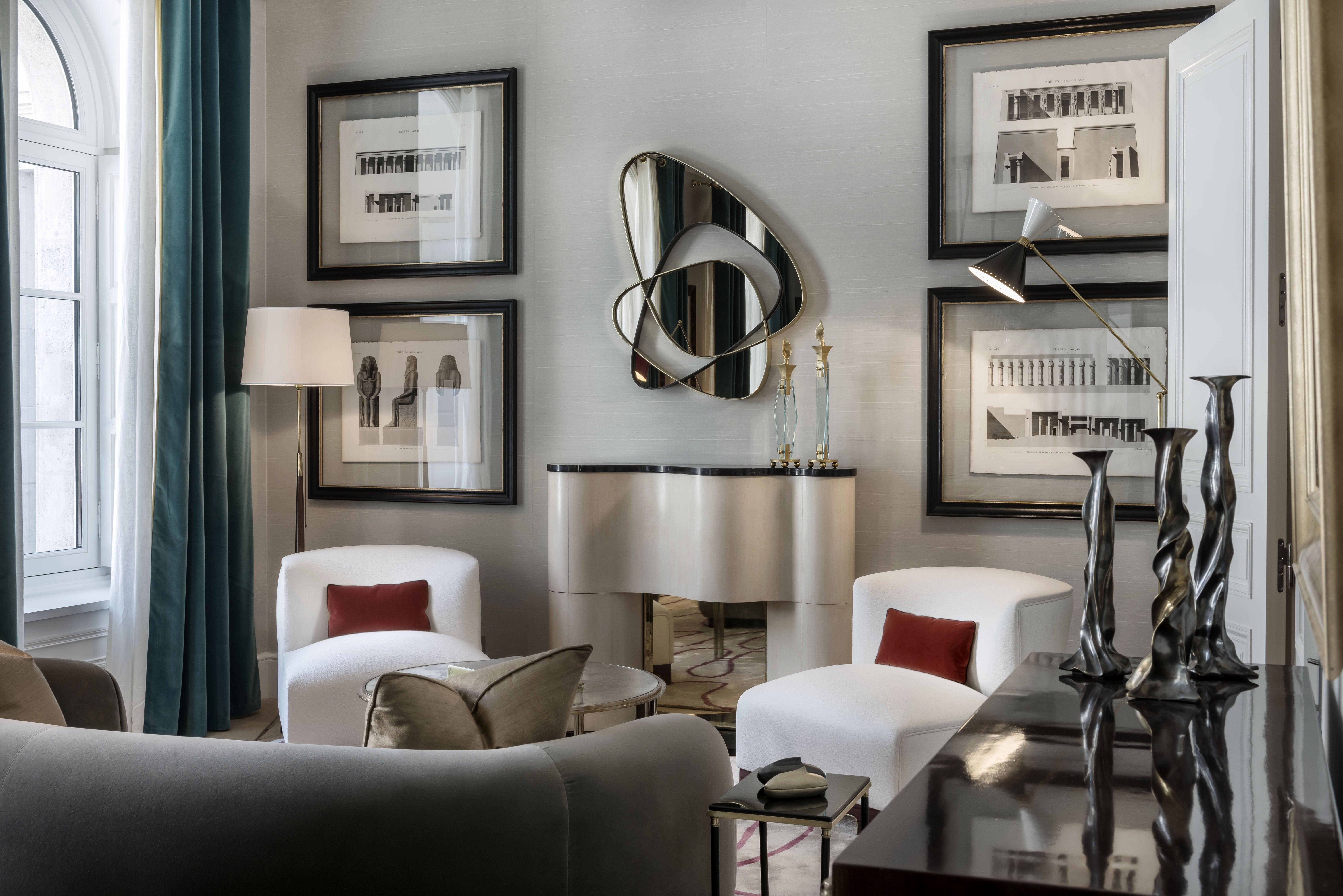 Paris Apartment Living Room Iv By Achille Salvagni