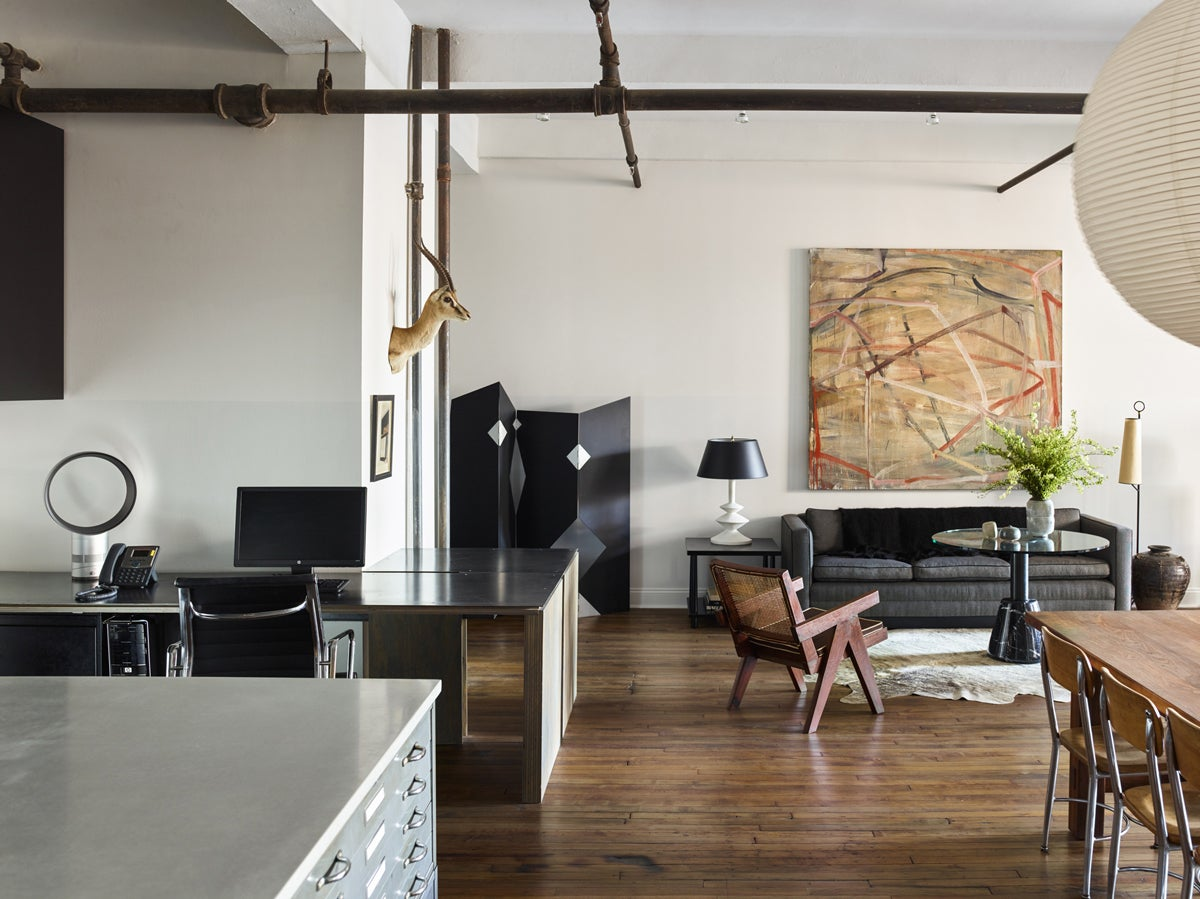 Modern Office And Study In New York Ny By Neal Beckstedt