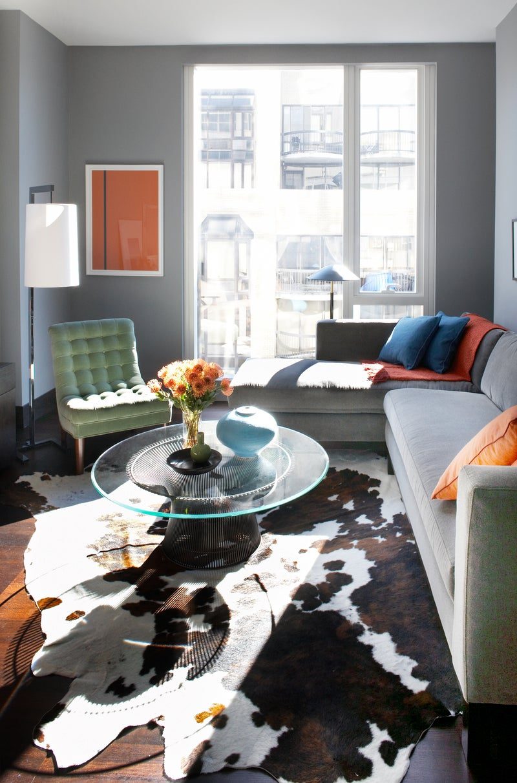 Modern Living Room in New York NY by Neal Beckstedt Studio