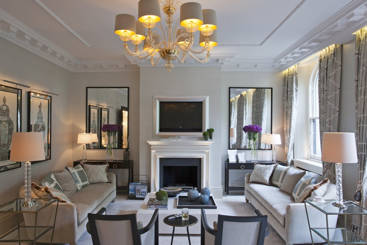 Ennismore Gardens Knightsbridge Contemporary Living Interiors Inside Ideas Interiors design about Everything [magnanprojects.com]