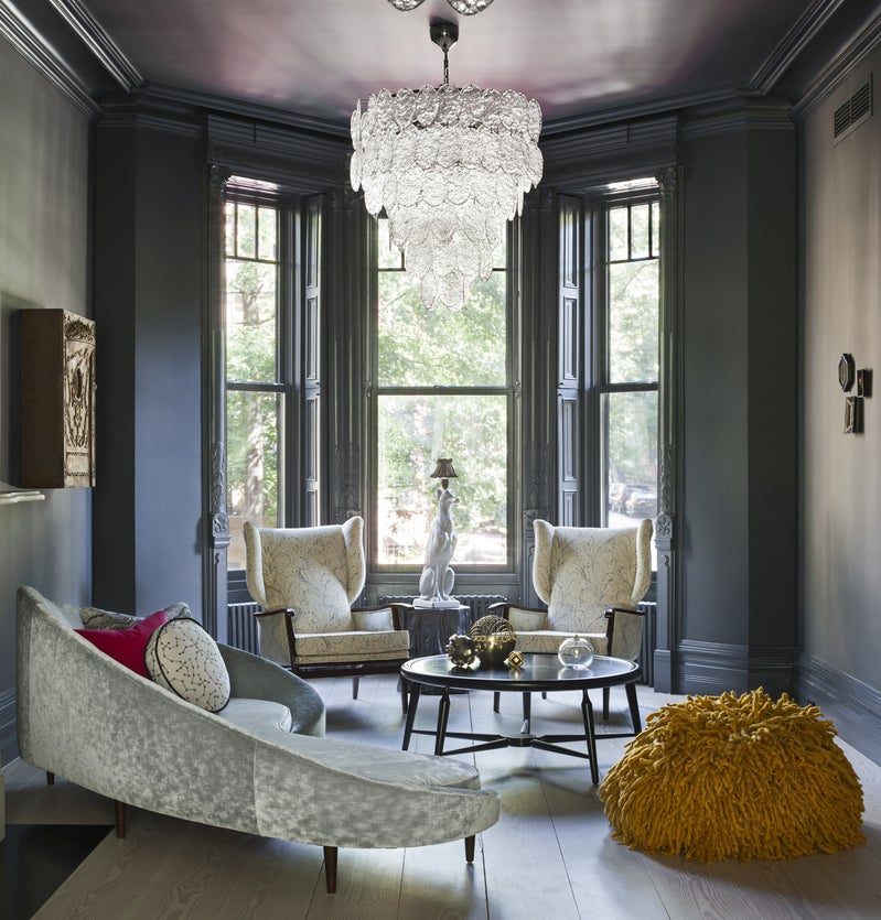 Modern Living Room In New York, NY By Tamara Eaton Design
