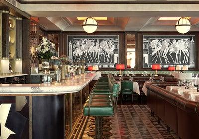 Art Deco Restaurant Design. Restaurant Furniture With Art Deco ...
