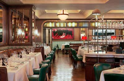 Art Deco Restaurant Open Plan. Smith & Wollensky by Martin Brudnizki Design Studio.