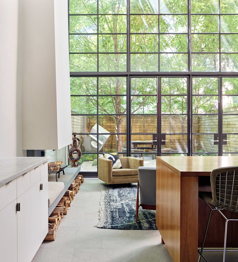 Mid century modern kitchen in new york ny by rees roberts for Furniture stores upper west side