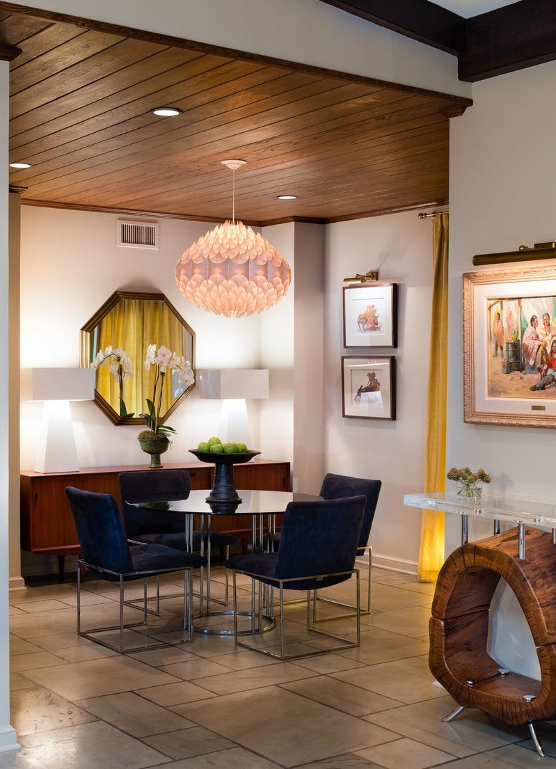Mid Century Modern Dining Room In San Antonio Tx By M
