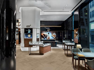 montblanc hamburg nw flagship by no duchaufour lawrance. Black Bedroom Furniture Sets. Home Design Ideas