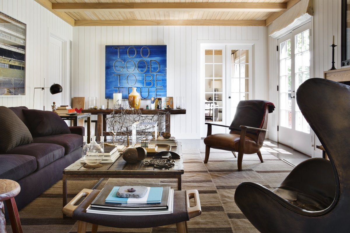 Organic Living Room In The Hamptons Ny By Robert Stilin