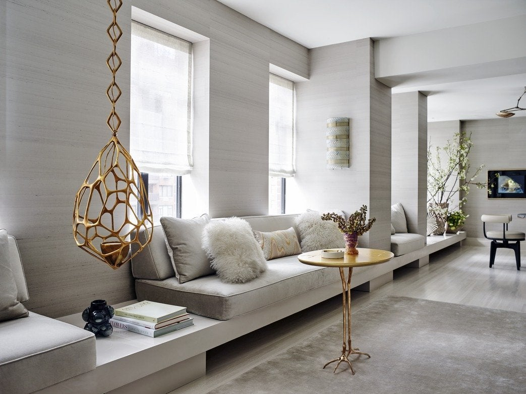 Living Room Contemporary Living Room In New York Ny By