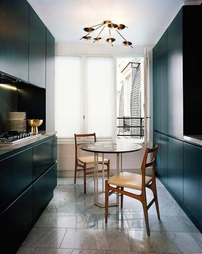 Contemporary Kitchen. Paris Saint Germain by DIMORESTUDIO.