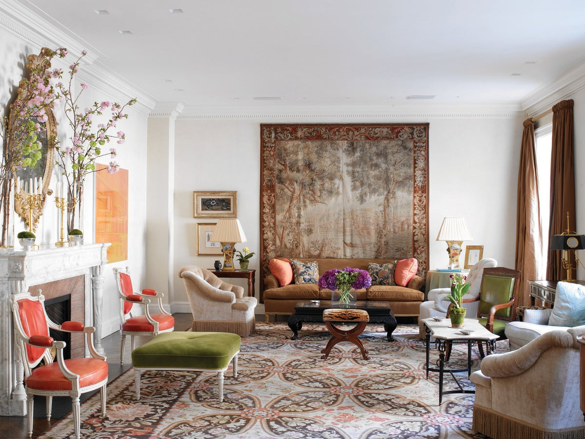 Nyc apartment by brian j mccarthy inc for Nyc apartment interior design