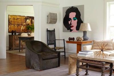 East hampton by huniford design studio - Green living room ideas in east hampton new york ...