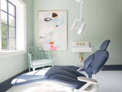 Healthcare Workspace. Chic Dental Office by Summer Thornton Design .