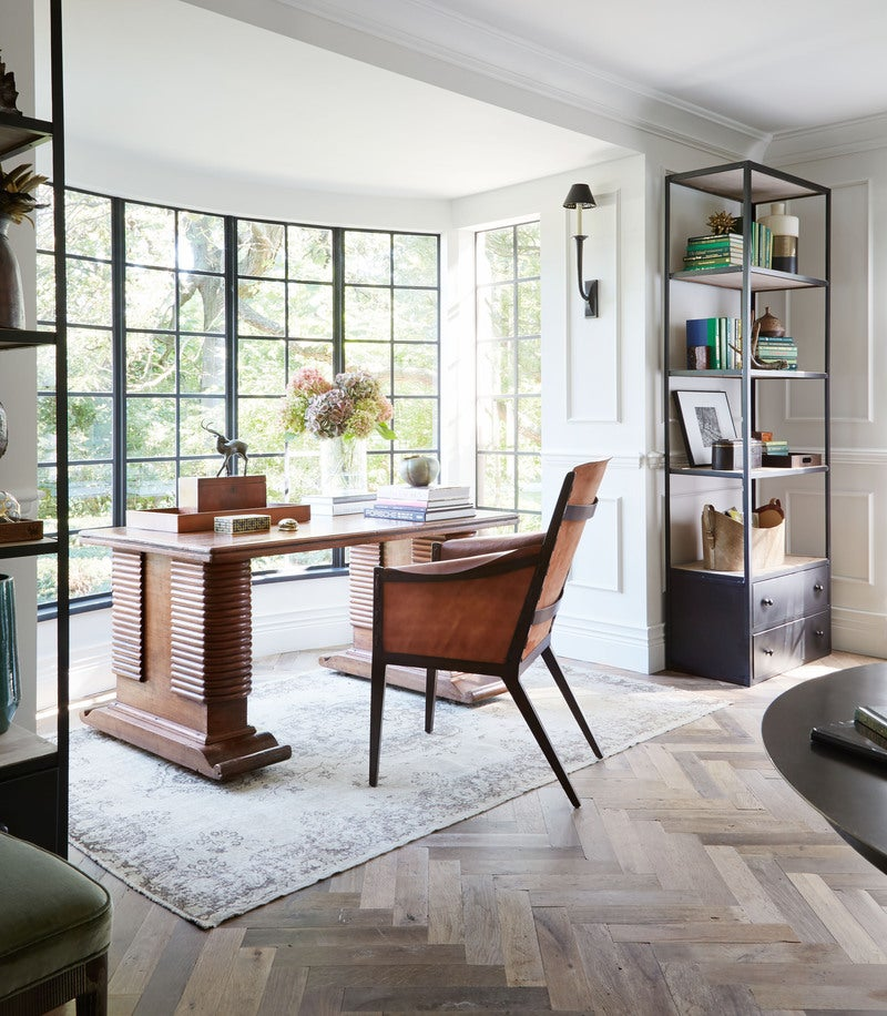 Modern Office and Study by Summer Thornton Design