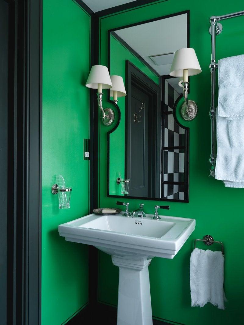 Eclectic Bathroom In London Gb By Beata Heuman Ltd