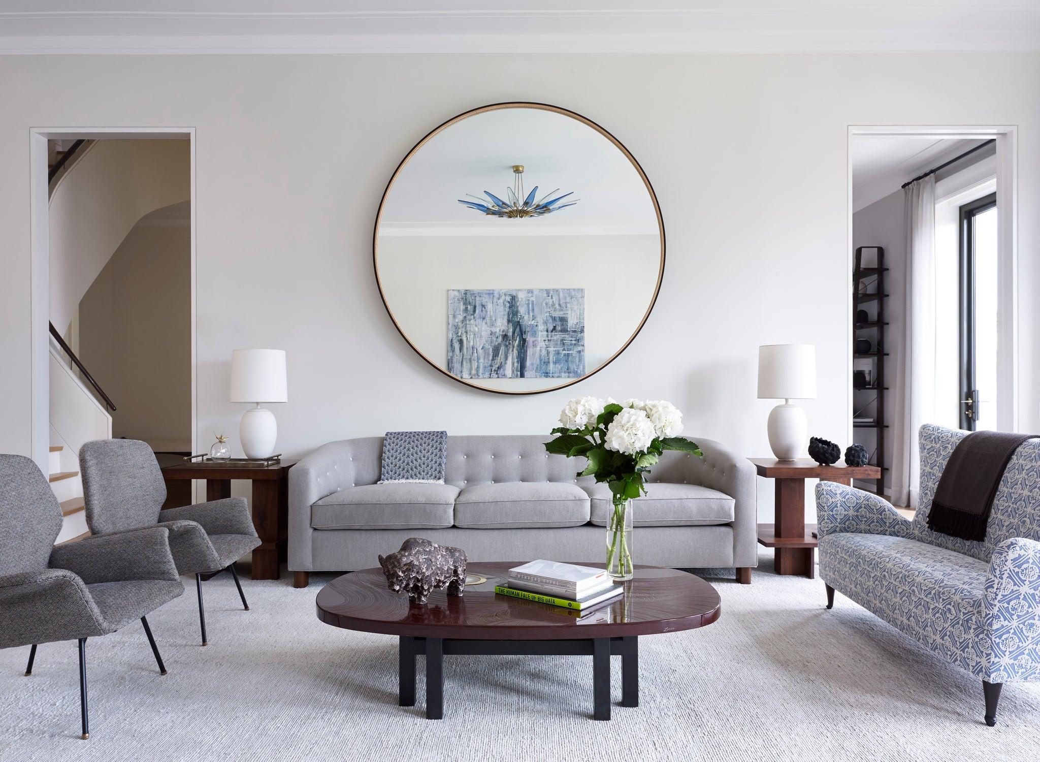 Mid Century Modern Living Room Design