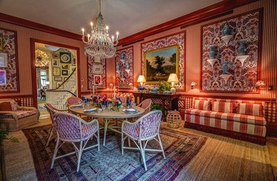 2015 kips bay decorator show house by kips bay decorator for Mark d sikes dining room