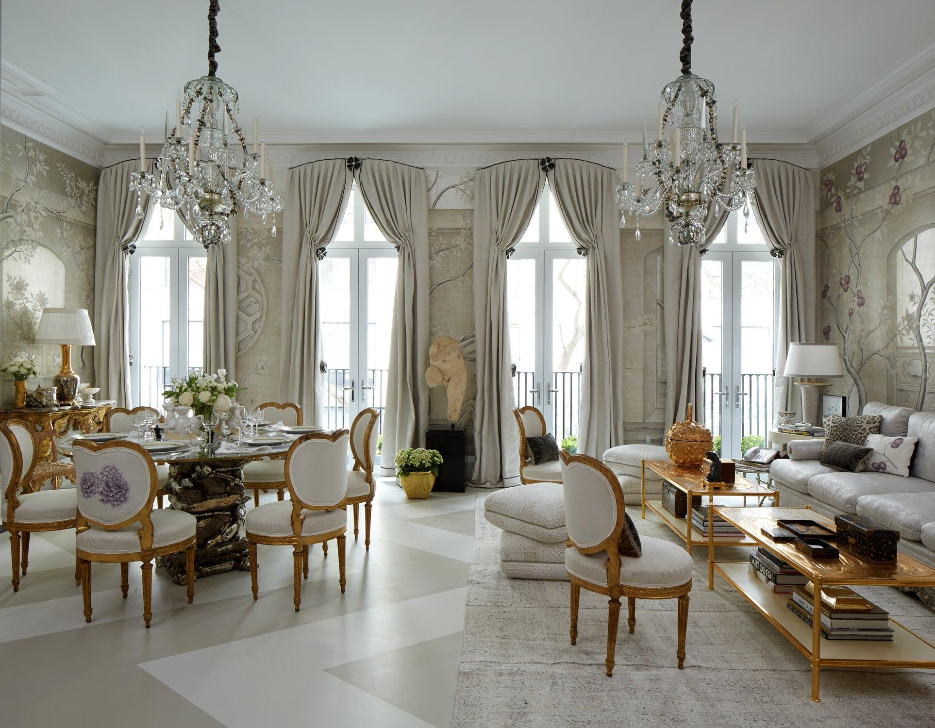 Dining Room By Alex Papachristidis Kips Bay Decorator Show House On 1stdibs