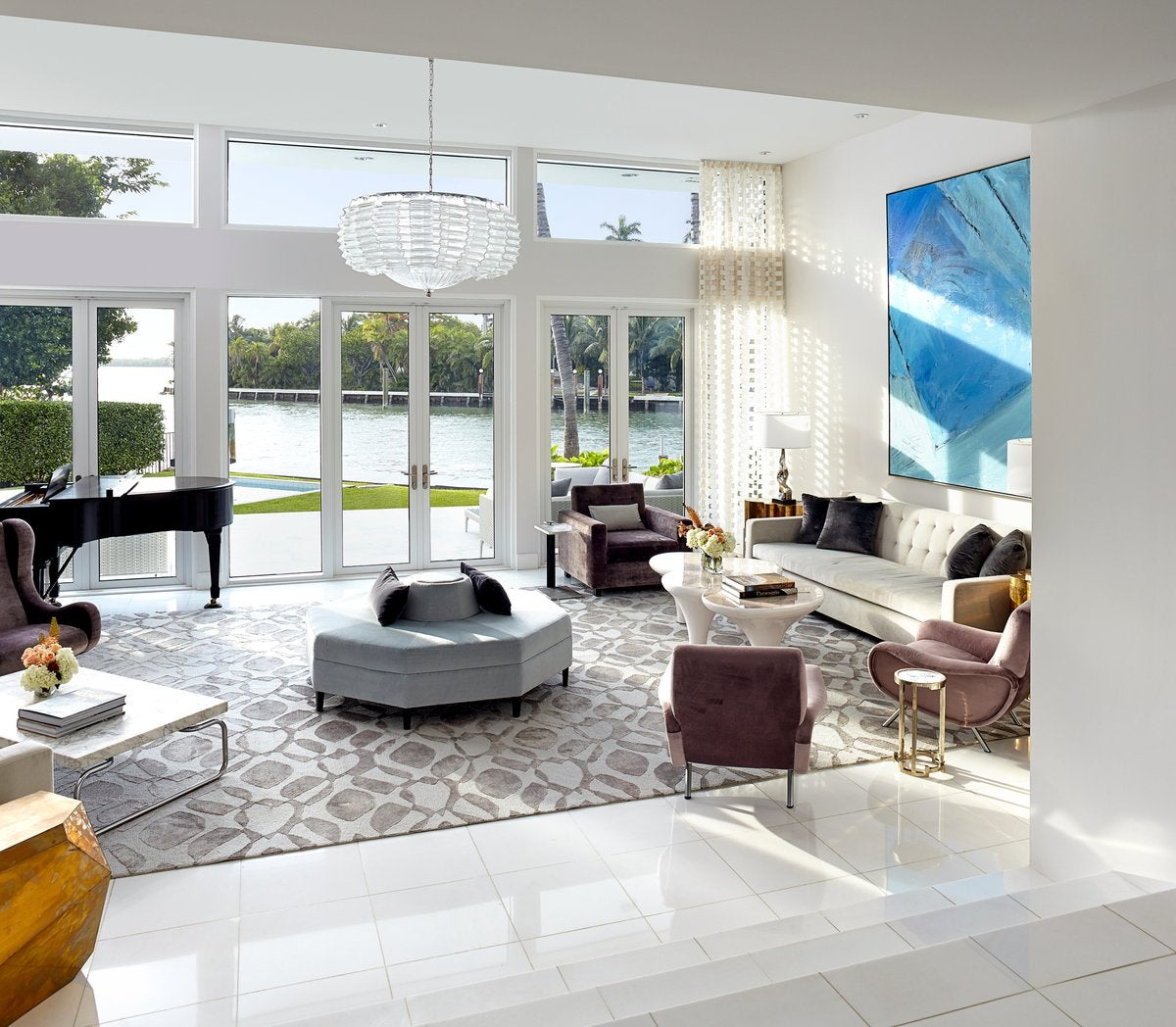 Miami Vice House By Brown Davis Interiors