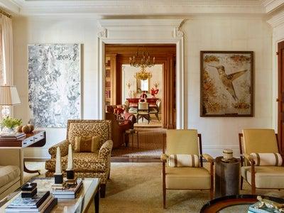 Cullman & Kravis Inc. - Glamorous Park Avenue Apartment