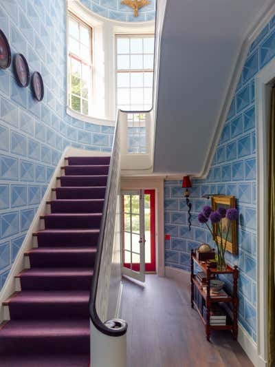 Traditional Entry and Hall. Millbrook by Katie Ridder Inc..