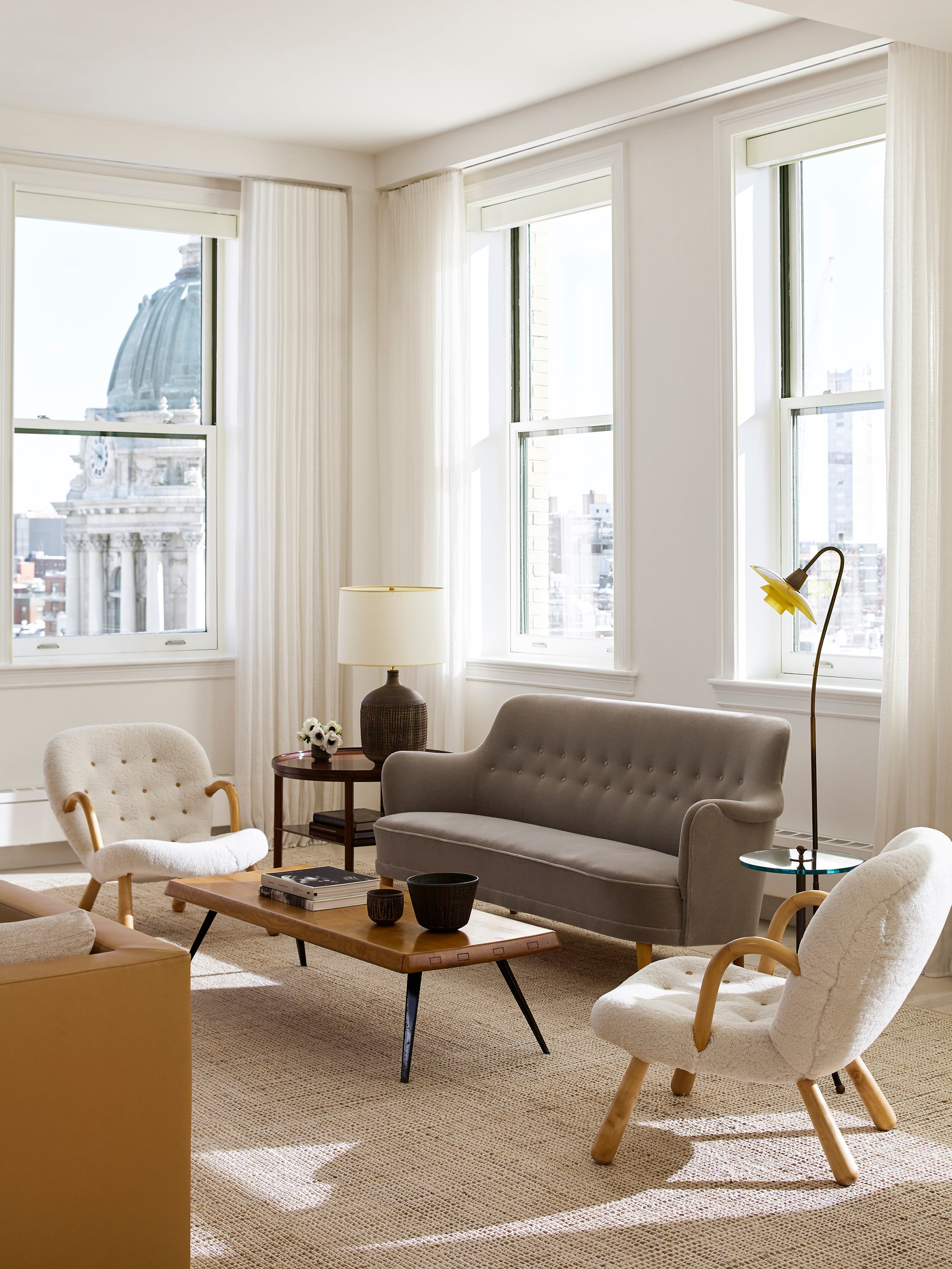 Living Room in New York, NY by Neal Beckstedt Studio