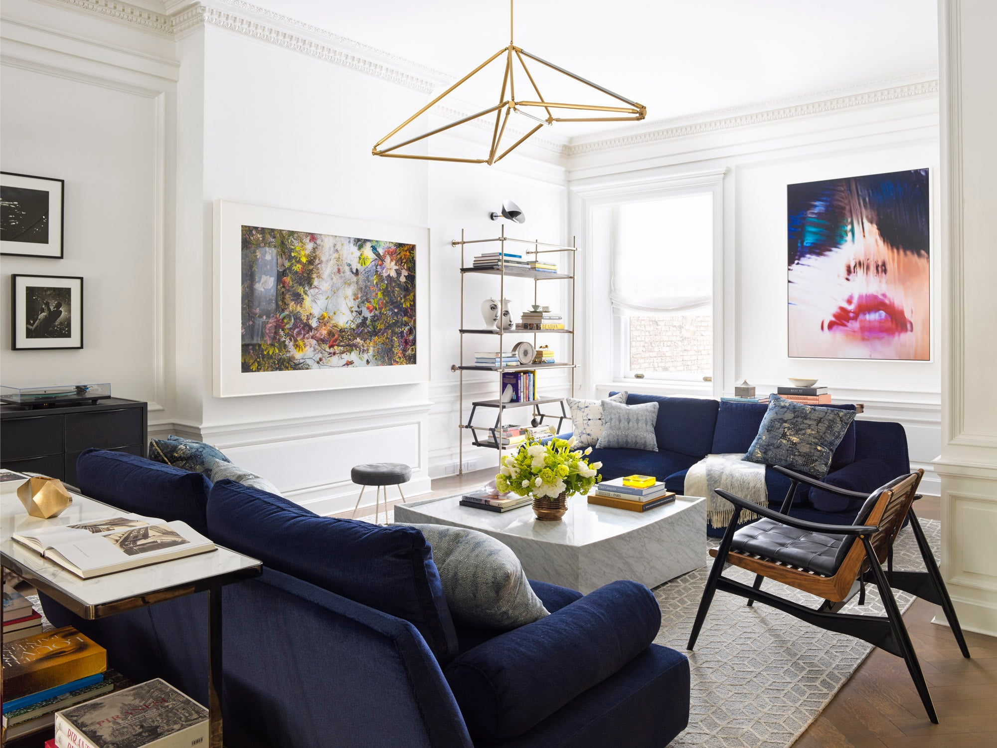 Montgomery Place Townhouse - Parlor - Living Room in Brooklyn, NY by ...