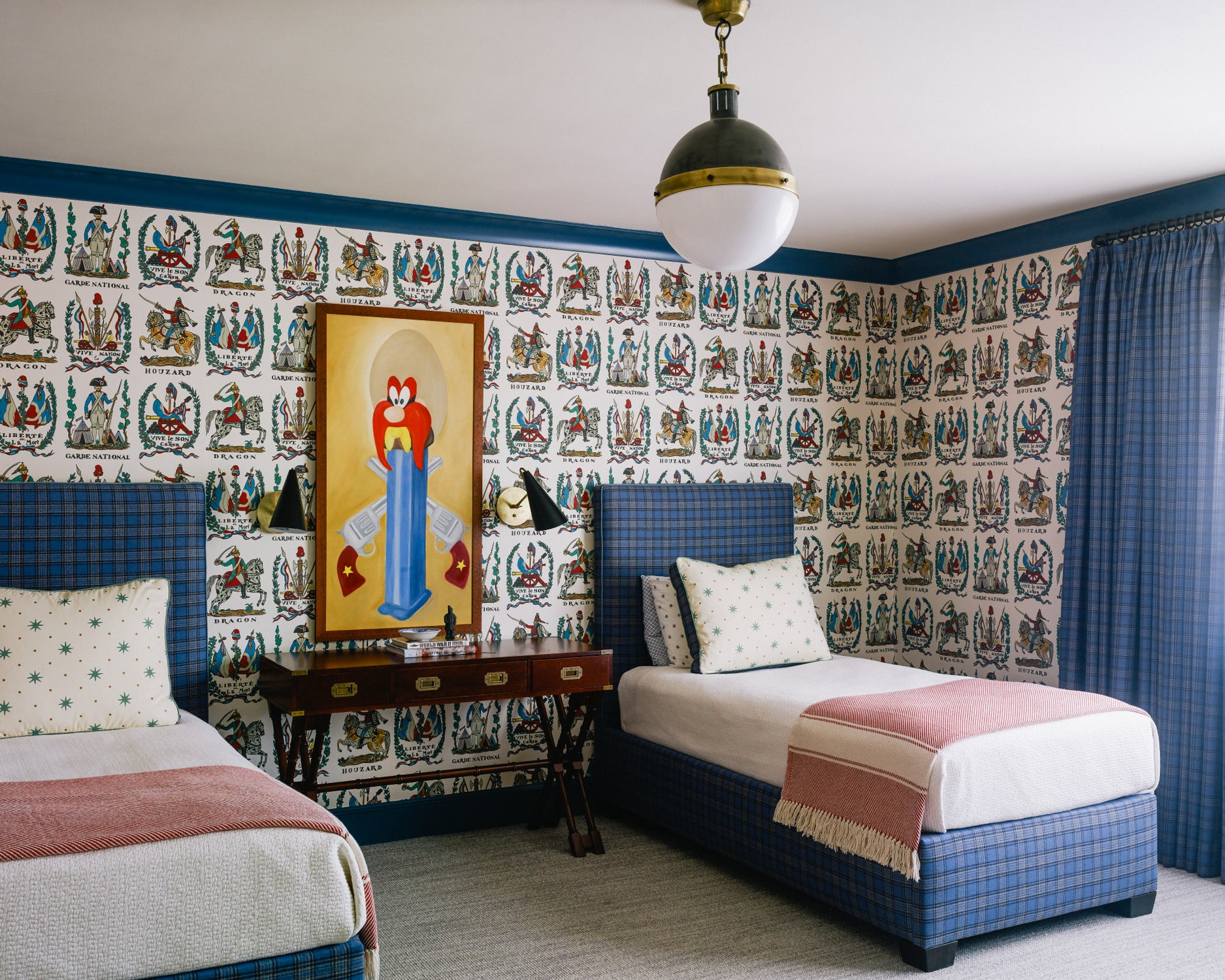 Sons Room by Charlotte Lucas Interior Design on 1stdibs