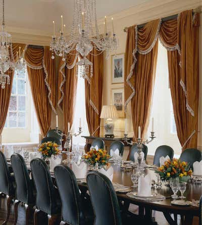 Government/Institutional Dining Room. British Embassy by Brown Davis Interiors.
