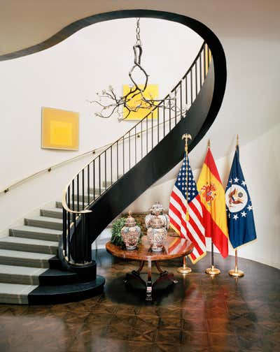 Government/Institutional Entry and Hall. United States Embassy Residence by Michael S. Smith Inc..