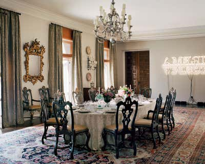Government/Institutional Dining Room. United States Embassy Residence by Michael S. Smith Inc..