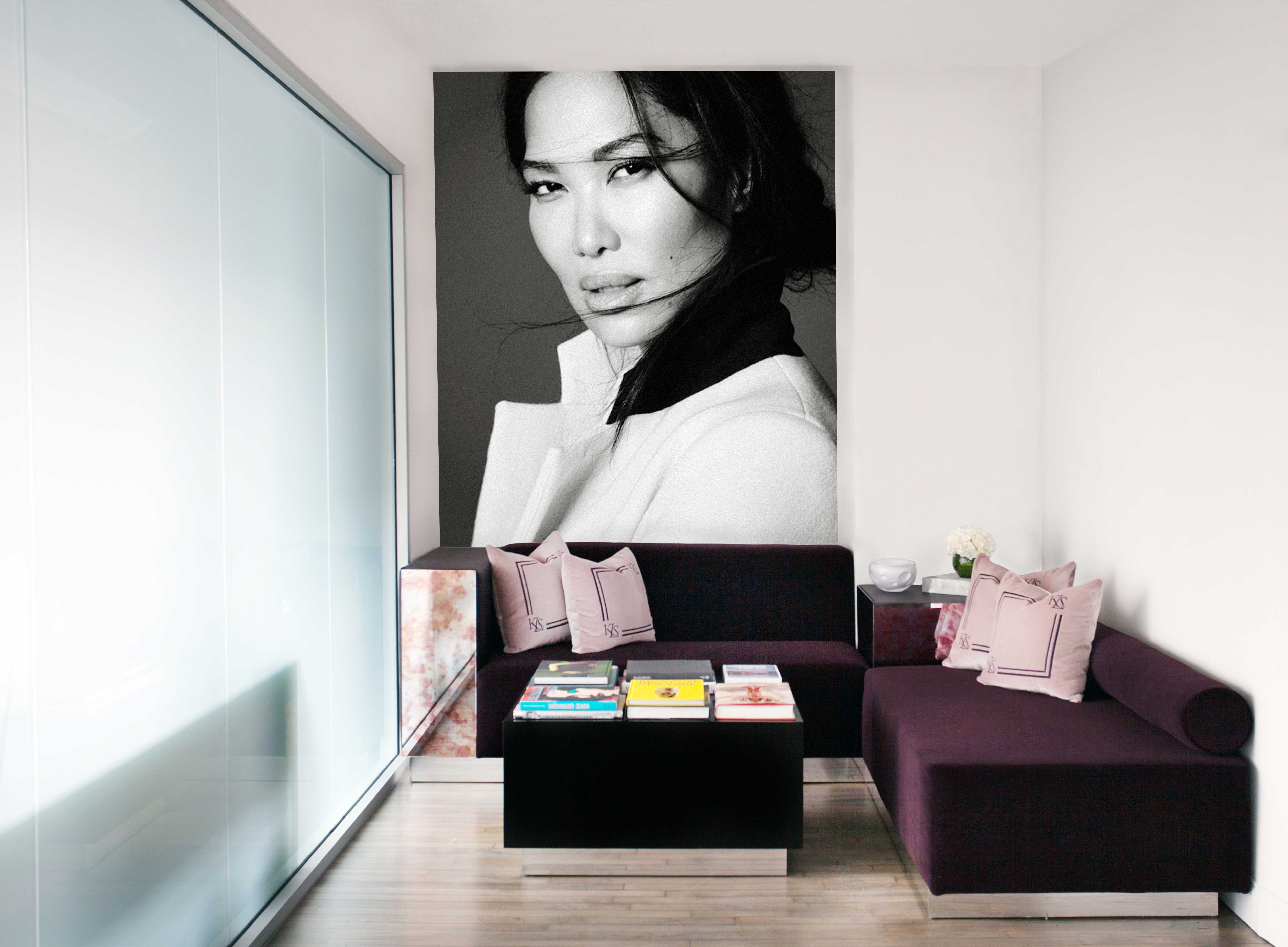 Kimora lee simmons offices by nicole fuller interiors on 1stdibs - Kimora lee simmons office ...