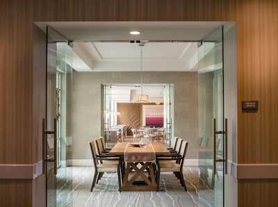 Jessica Schuster Interior Design - Boston Hospitality Building