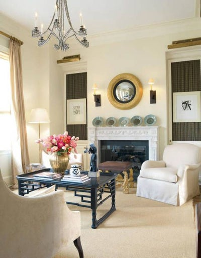 J. Randall Powers Interior Decoration - British Townhome