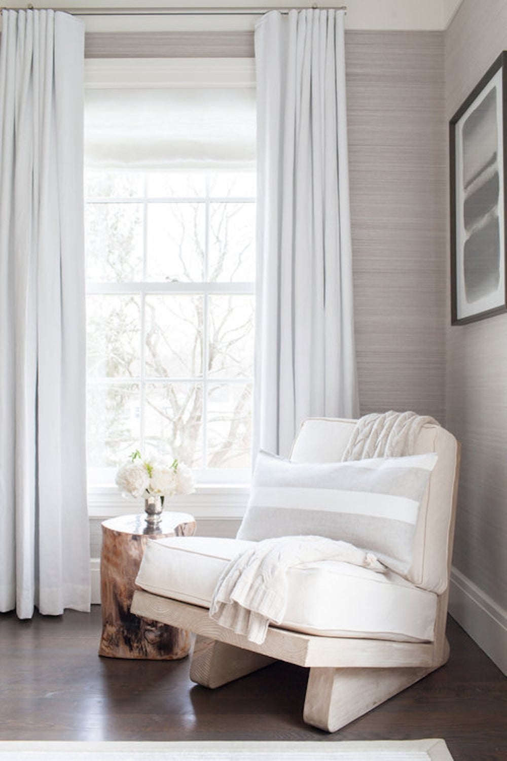 Master Bedroom Sitting Area by Chango & Co. on 1stdibs