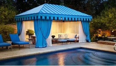 Bruce Fox Design - North Shore Estate Tented Pool House