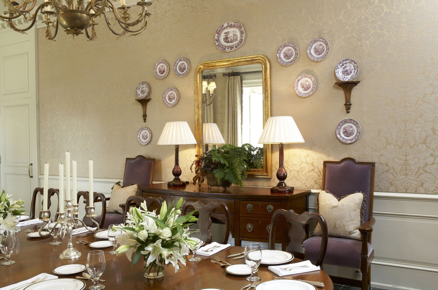Country Club of Birmingham by Tammy Connor Interior Design on 1stdibs
