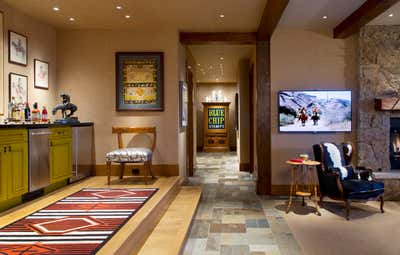 Western Family Home Open Plan. Colorado Country Retreat by MMB Studio.