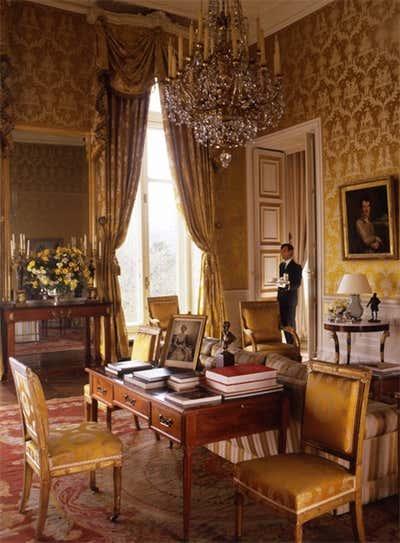 Government/Institutional Meeting Room. British Embassy by Tino Zervudachi - Paris.