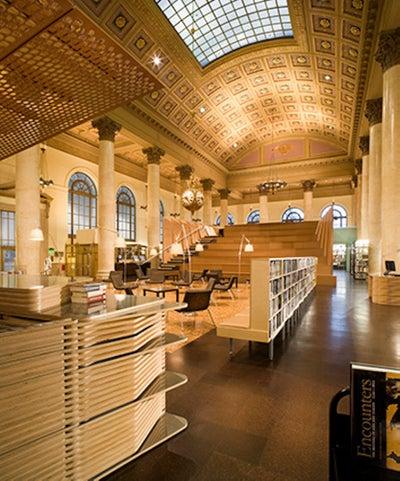MPdL Studio  - Fleet Library at RISD