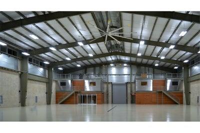 Raven Labatt Interiors - Private Airplane Hangar