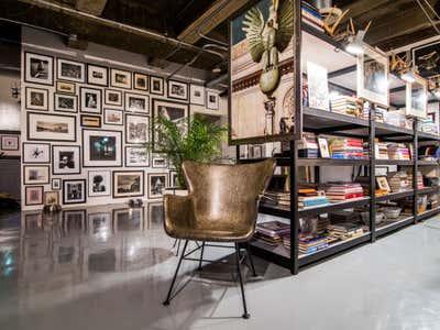 Industrial Bachelor Pad Open Plan. Los Angeles Loft by Todd Yoggy Designs.