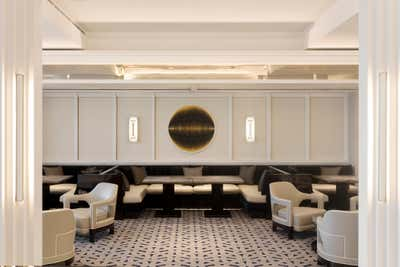 Art Deco Mixed Use Open Plan. Bismuth Gradient by Blainey North.