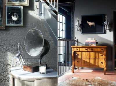Eclectic Office and Study. Atelier by Paul Hardy Design Inc..