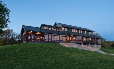Martha Dayton Design - Northern Minnesota River House
