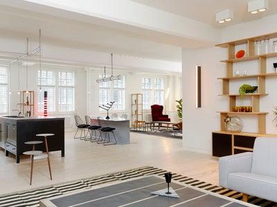 Fran Hickman Design & Interiors  - VINYL FACTORY, Soho