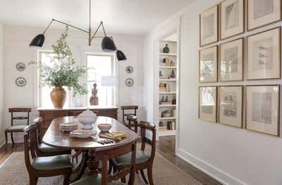 Eclectic Dining Room. Well Traveled by Collected Design Studio.
