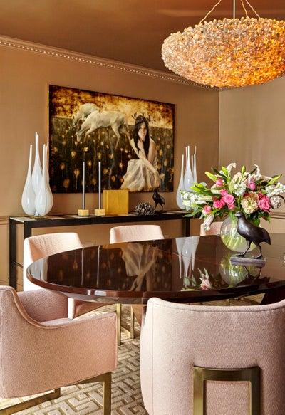 Aida Interior Designs - In Living Glamour
