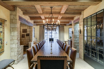 Frank Ponterio Interior Design - Nashville Wine Cellar