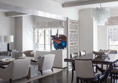 Art Deco Apartment Open Plan. West Village by Josh Greene Design.